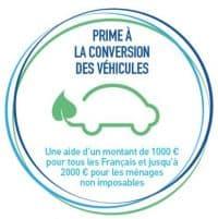 Prime à la conversion pour voiture neuve et occasion